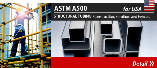ASTM A500 Structural Tubing for Canada