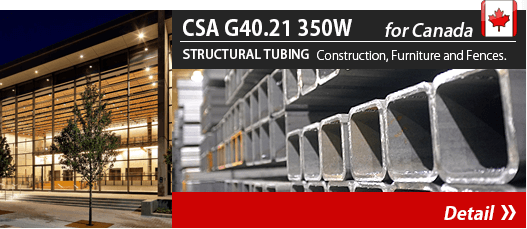 CSA G40.21 350W for USA